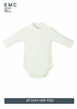 EMC Unisex Baby Cream Polo neck Body