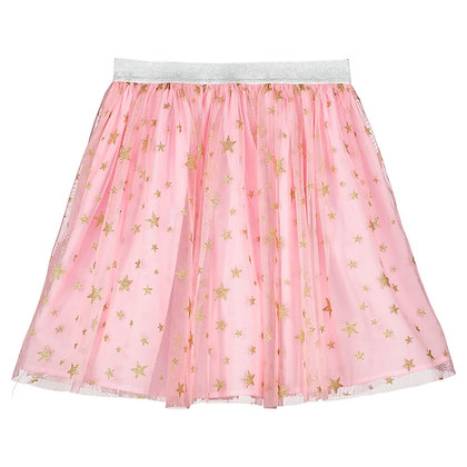Holly Hastie Pink Star Tulle Girls Party Skirt