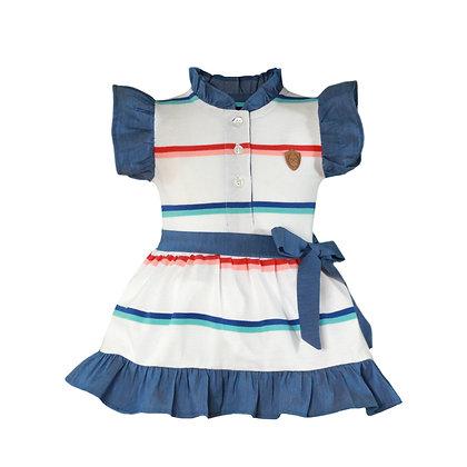 Miranda Nel Blu Baby Girls' Dress