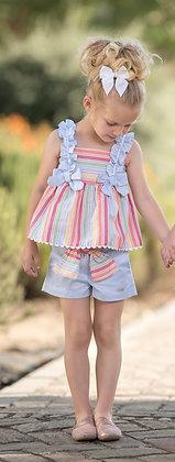 Miranda Girls Candy stripe set