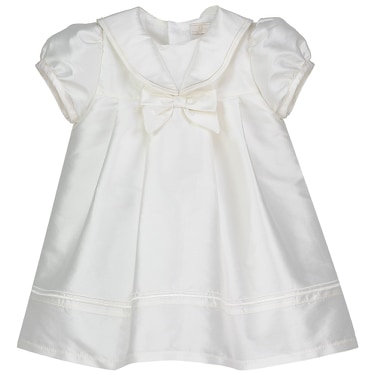occasion dress ivory bow sailor baby girls baptism christening