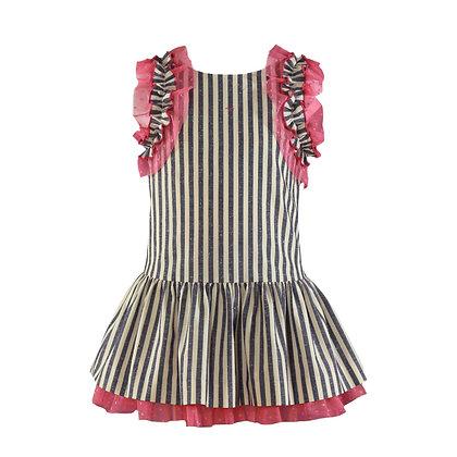 Miranda Nel Blu Girls' Dress