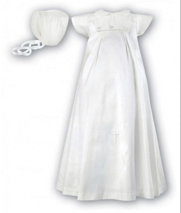 Ivory Unisex Christening Gown Ivory Occasion