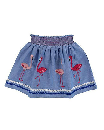 Lilly and Sid Flamingo Skirt Organic Cotton
