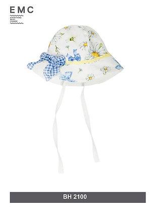 EMC Baby Girls Sunflower Print Hat