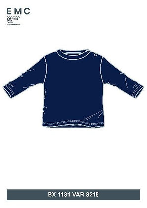 EMC Baby Boy Navy Blue Top