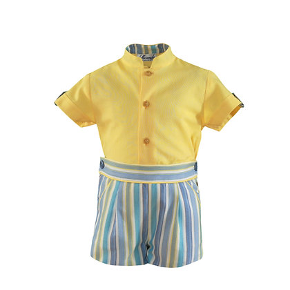 Miranda Baby Boys' Shirt and Shorts Set