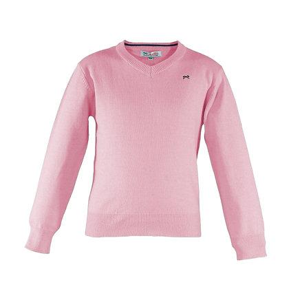 Knitted Jumper Pink Boys Miranda