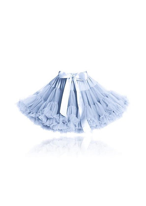 Dolly by Le Petit Tom Tutu Skirt Light Sky Blue