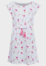 Minoti Girls Flamingo Jersey Dress