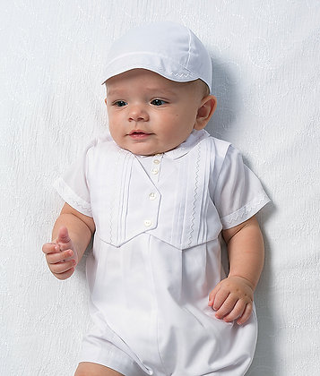 Sarah Louise Baby Boys' White Christening Outifit