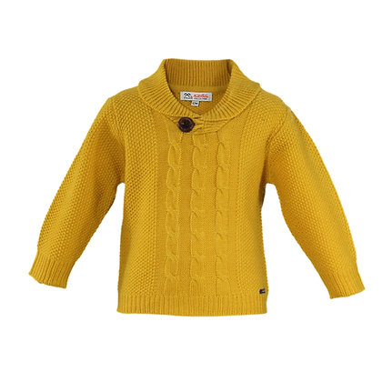 Miranda Nel Blu Baby Boys' Wool Jumper
