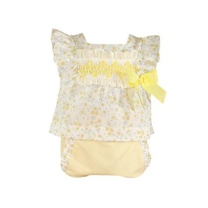 Miranda Baby Girls' Blouse and Bloomer Set