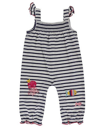 Lilly and Sid Stripped Romper Organic Cotton