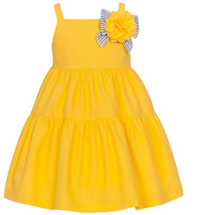 Balloon Chic Girls Yellow Dress