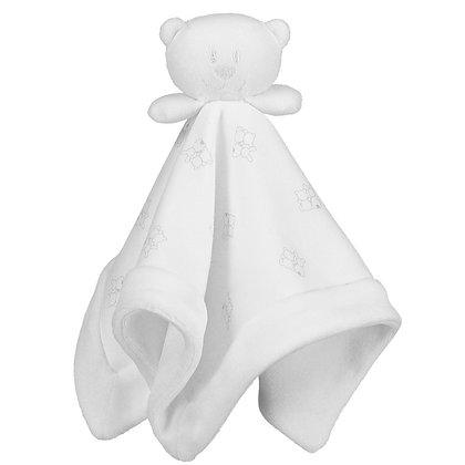 EMILE ET ROSE WHITE BEAR COMFORTER