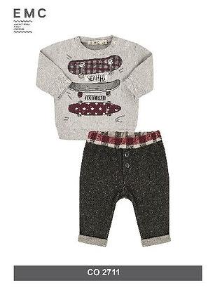 EMC Baby Boys' Grey Tracksuit