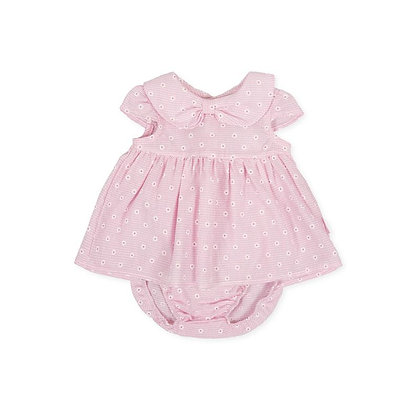 Daisy Pink Dress Bow Briefs Baby Girl