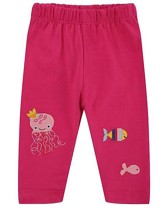 Lilly and Sid Pink Leggings Organic Cotton