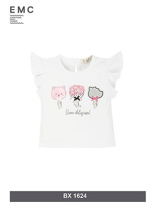 EMC White Top with Print