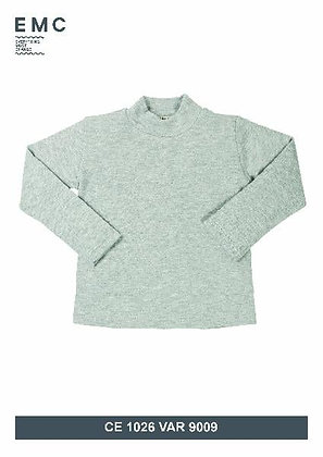 EMC Unisex Grey Polo Neck