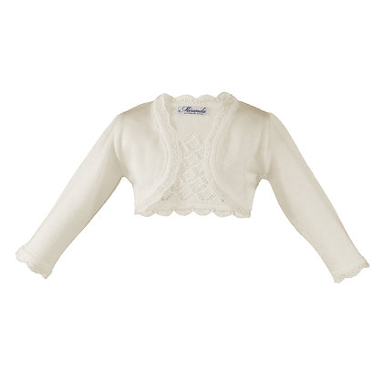 Miranda Baby Girls Knitted Bolero