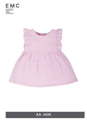 EMC Pink Dress with White Printed Stars