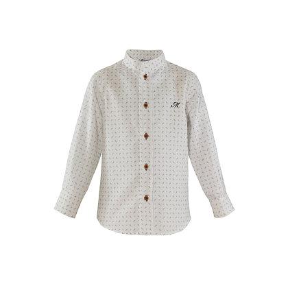 Miranda Boys' Collarless Shirt