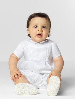 Sarah Louise Baby Boys' White Christening Outfit