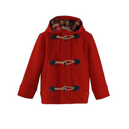 Miranda Boys' Red Duffle Coat