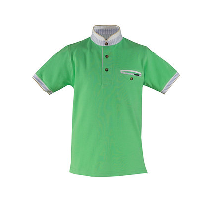 Miranda Boys' Mint Green Polo Shirt