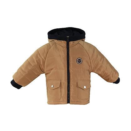 Miranda Baby Boy Beige Padded Jacket