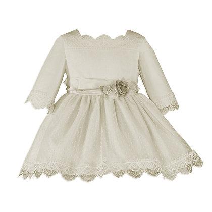 Miranda Girls Occasion Ivory Dress