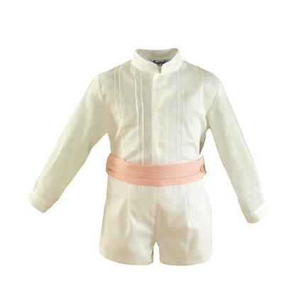 Miranda Baby Boys' Occasion Shirt and Shorts Set