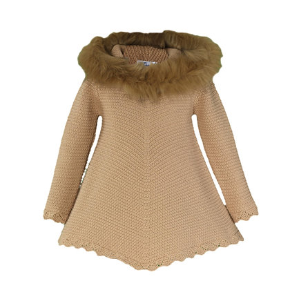Miranda Girls' Wool Dress