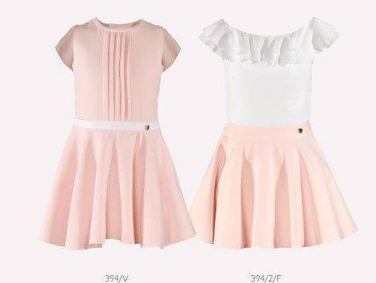 Girls Dress Pink Occasion Pastel