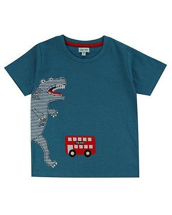 Dino Bus T-Shirt Organic Boys