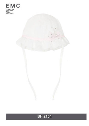 EMC Baby Girls White with 3D Butterfly