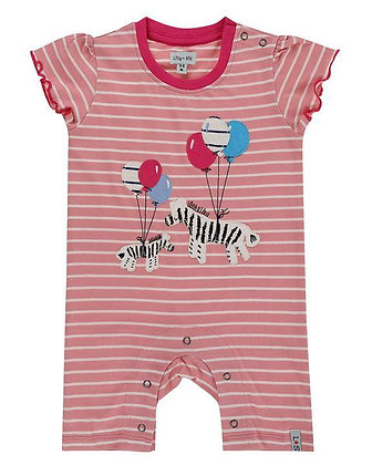 Lilly and Sid Romper Playsuit girl made with oraganic cotton