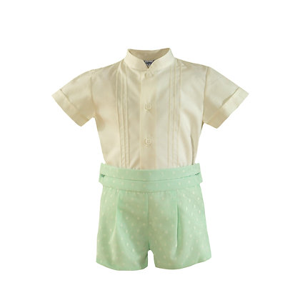 Miranda Baby Boys' Shirt and Shorts Set