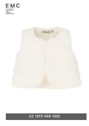 EMC Girls' Fur Gilet