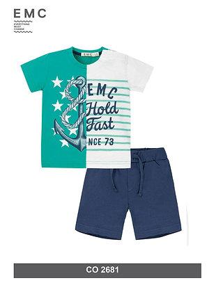 EMC Boys Summer Set Shorts T-Shirt