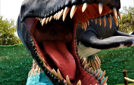 acercamiento de pliosaurio