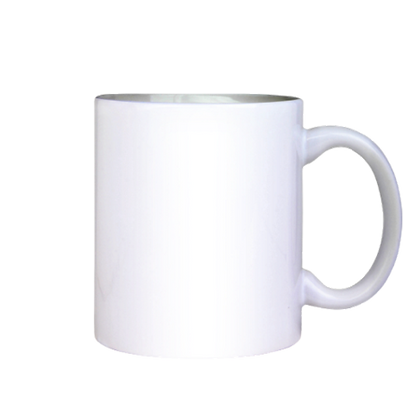 White Ceramic Sublimation Mug, 11 oz