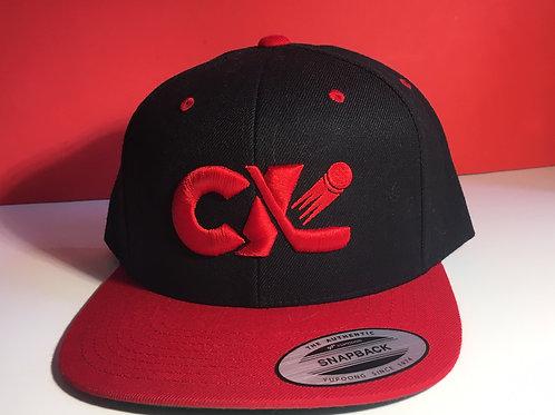 CK Hockey Flatbill Snapback Black/Red