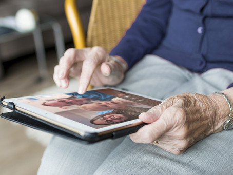 iPads Allow Long Term Care Facility Residents to Access the World Amid No-Visitation Policy