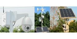 Solar/Eolic and Wireless Camera