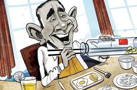 Obama's tryst with the dragon