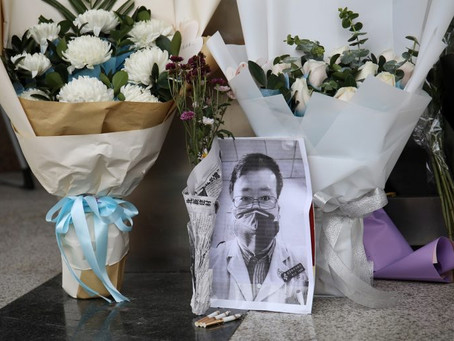 Death of a whistle-blower doctor in Wuhan an example of courage in bounded spaces