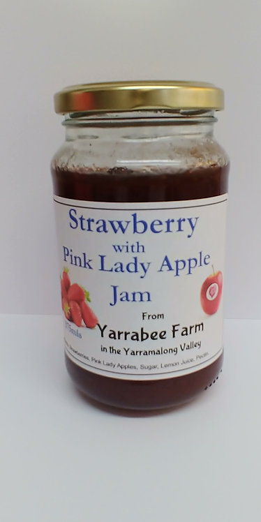 Yarrabee Farm Strawberry and Pink Lady Apple Jam